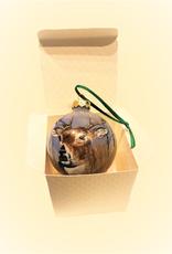 Ron Wetzel Art Handpainted Ornament - Deer