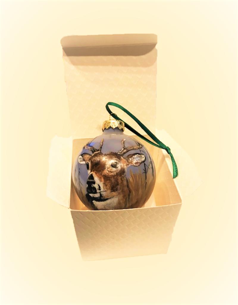 Handpainted Ornament - Deer