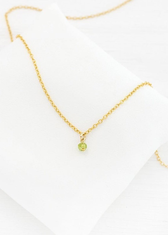 August's Birthstone - The Peridot