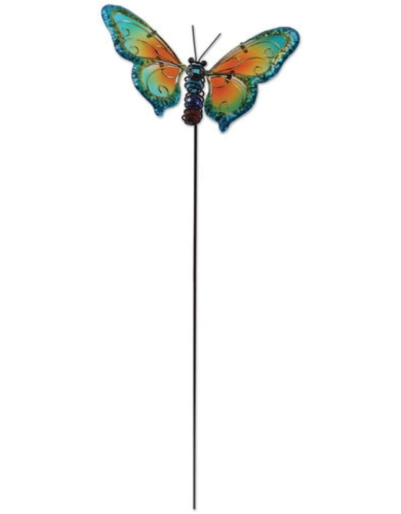 Butterfly Stake - Blue