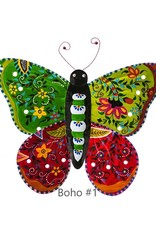 Hand Painted Wall Butterfly