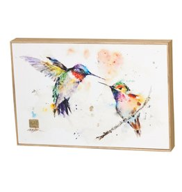 Dean Crouser The Lovebirds Hummingbirds Wall Art