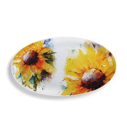 Dean Crouser Sunflower Platter