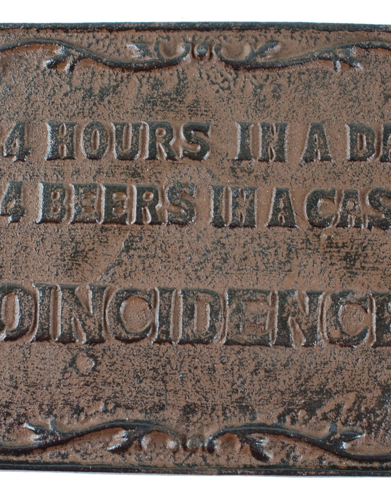 24 Hour Beer Sign
