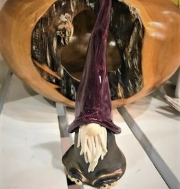 Pottery Gnome - Purple Hat