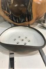Soap Dish - White/Brown