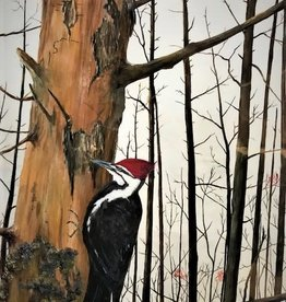 Ron Wetzel Art Ron Wetzel Print - Good Harbor Pileated