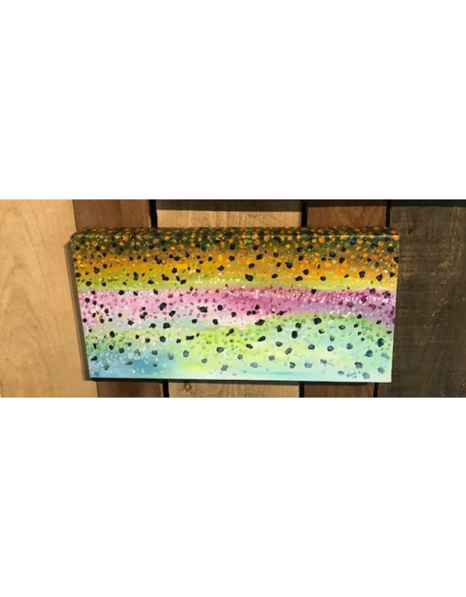 Ram Lee Art Rainbow Flank - 8x10 Canvas Wrap