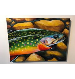 "Ram Lee Art Ram Lee - Brookie - 24"" x 32"" Gallery Wrap"