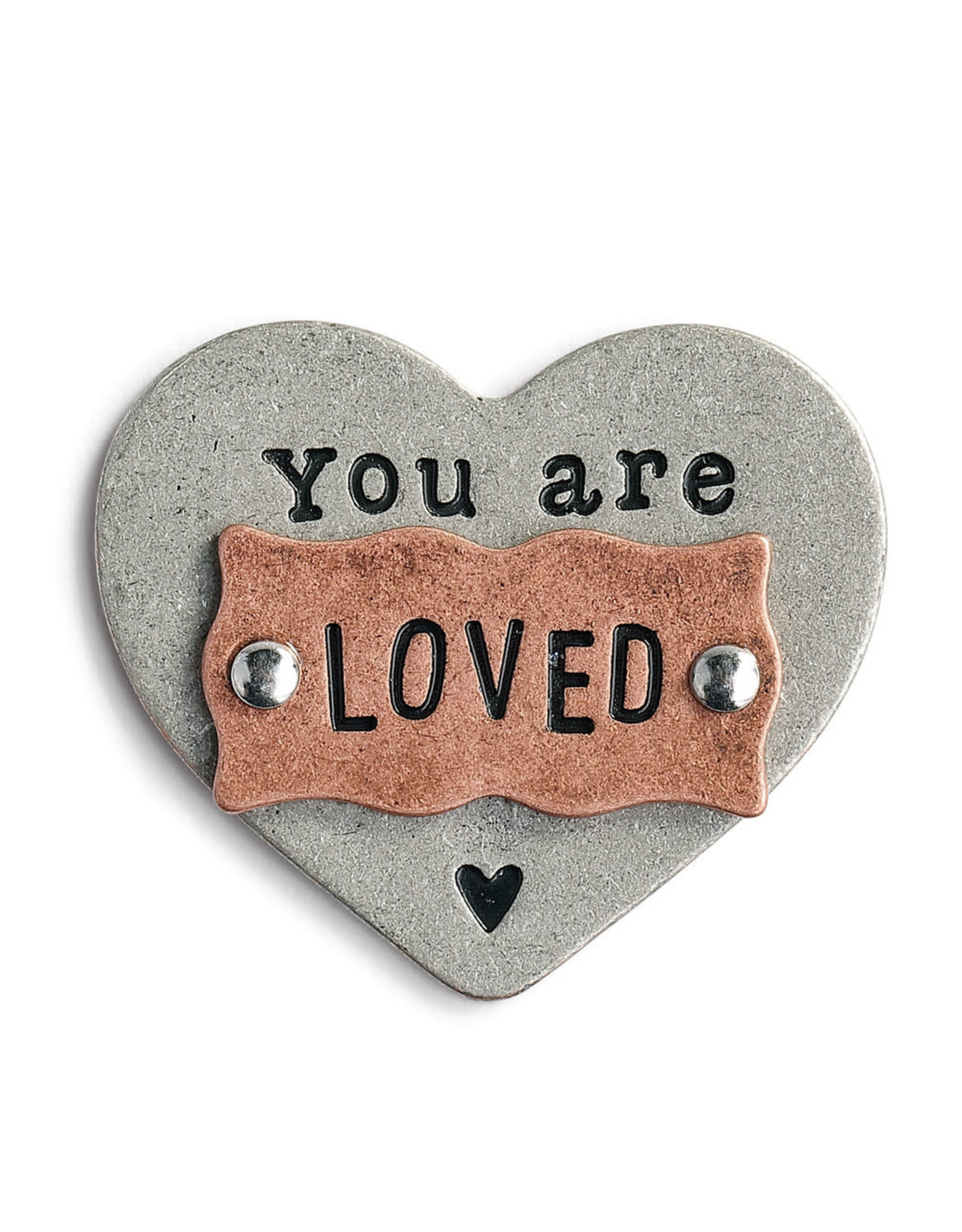 You Are Loved Heart Token