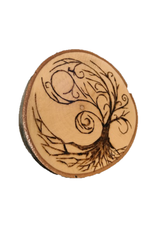Handmade Magnet Large Tree of Life Natural