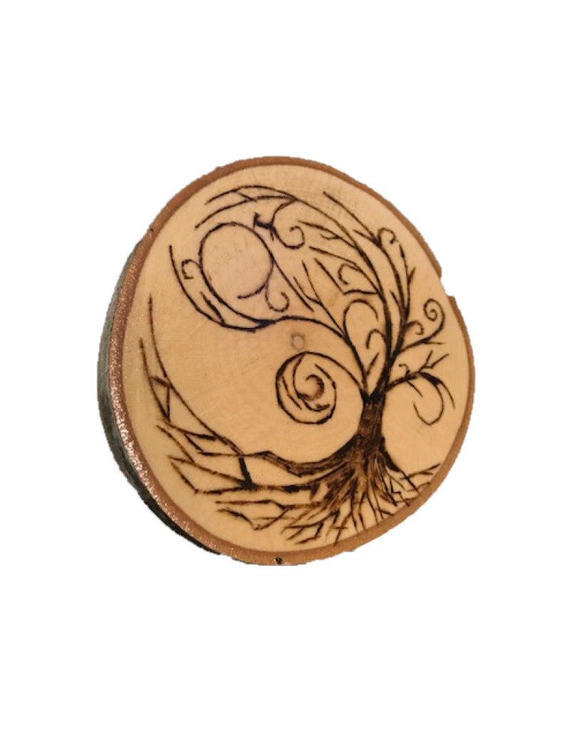 CraftCesi Handmade Magnet Large Tree of Life Natural