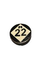 Handmade Magnet Small M22 Black & White
