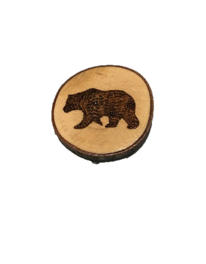 CraftCesi Handmade Magnet Large Bear Natural
