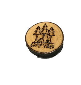 Handmade Magnet Small Camping Outdoors Natural