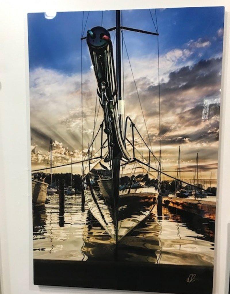 Nick Irwin Images Mirror Mirror on the Hull - 24x36 Aluminum Print