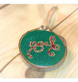 CraftCesi Handmade Ornament - Noel