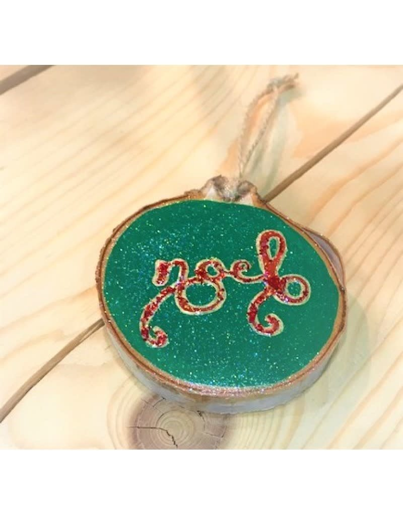 CraftCesi Handmade Ornament - Noel