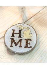 CraftCesi Handmade Ornament - Home Michigan Natural