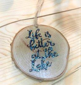 CraftCesi Handmade Ornament - Lake Life