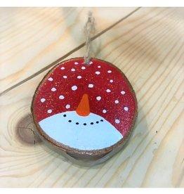 CraftCesi Handmade Ornament - Snowman Nose
