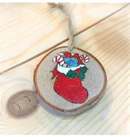CraftCesi Handmade Ornament - Stocking
