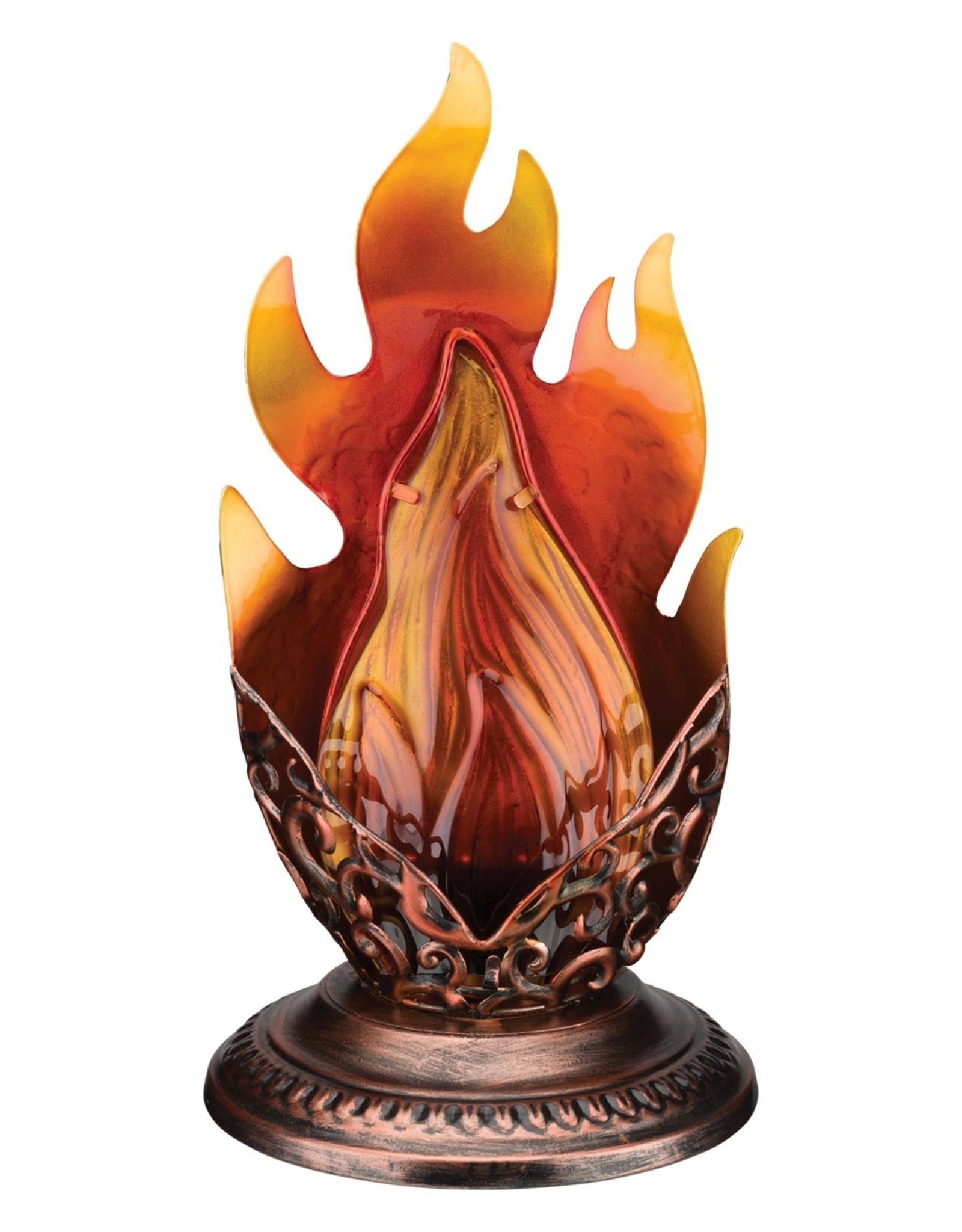 Blaze Table Lantern - Amber