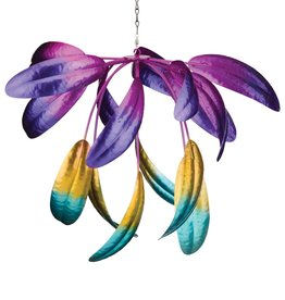 Hanging Wind Spinner - Leaf