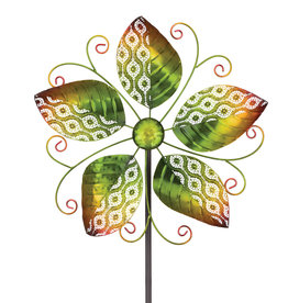 Spring Leaves Spinner Stake
