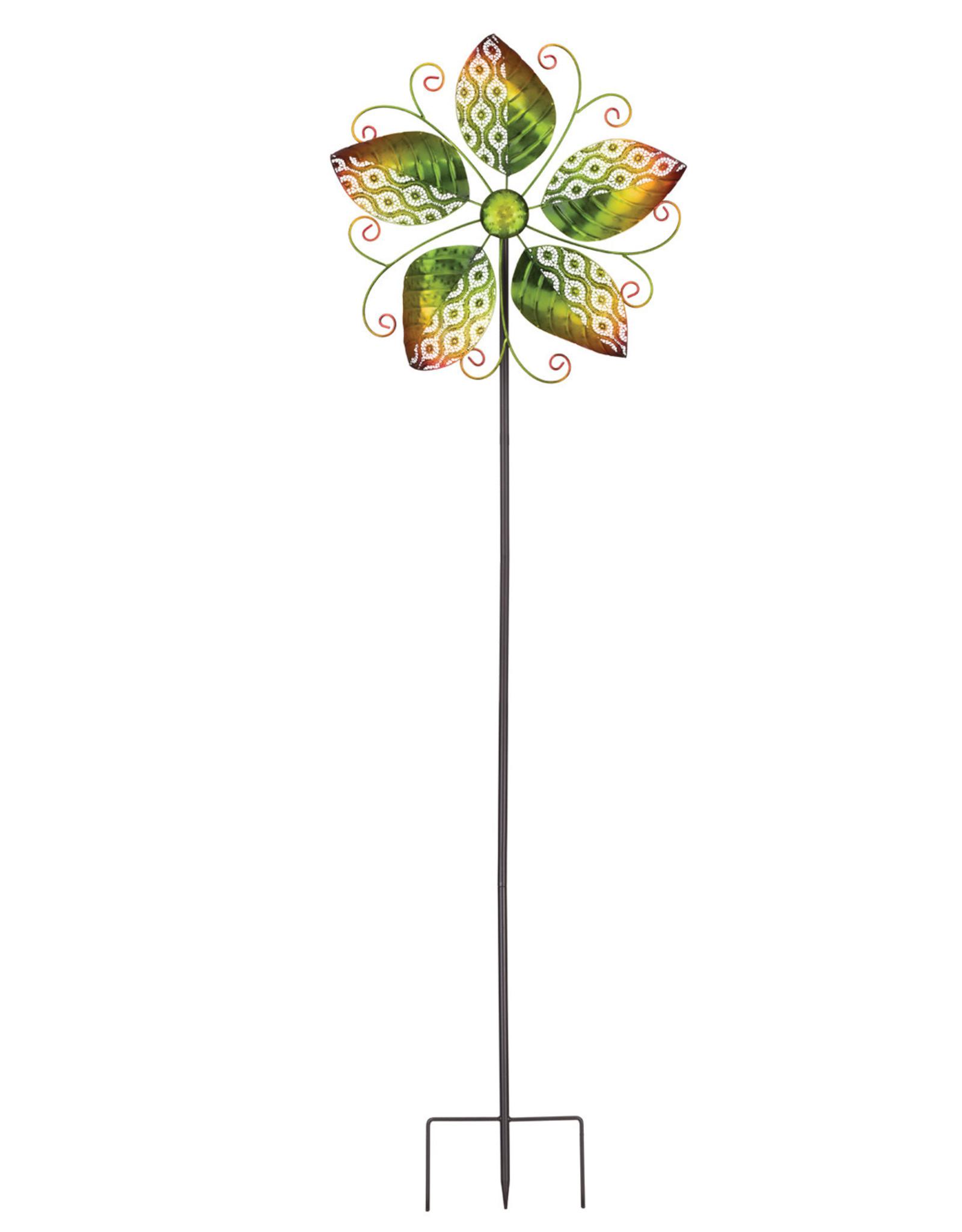 Wind Spinner Stake - Spring Leaves