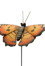 Garden Stake - 46'' Painted Lady Butterfly