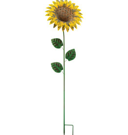 Giant Rustic Flower Stake - Sunflower