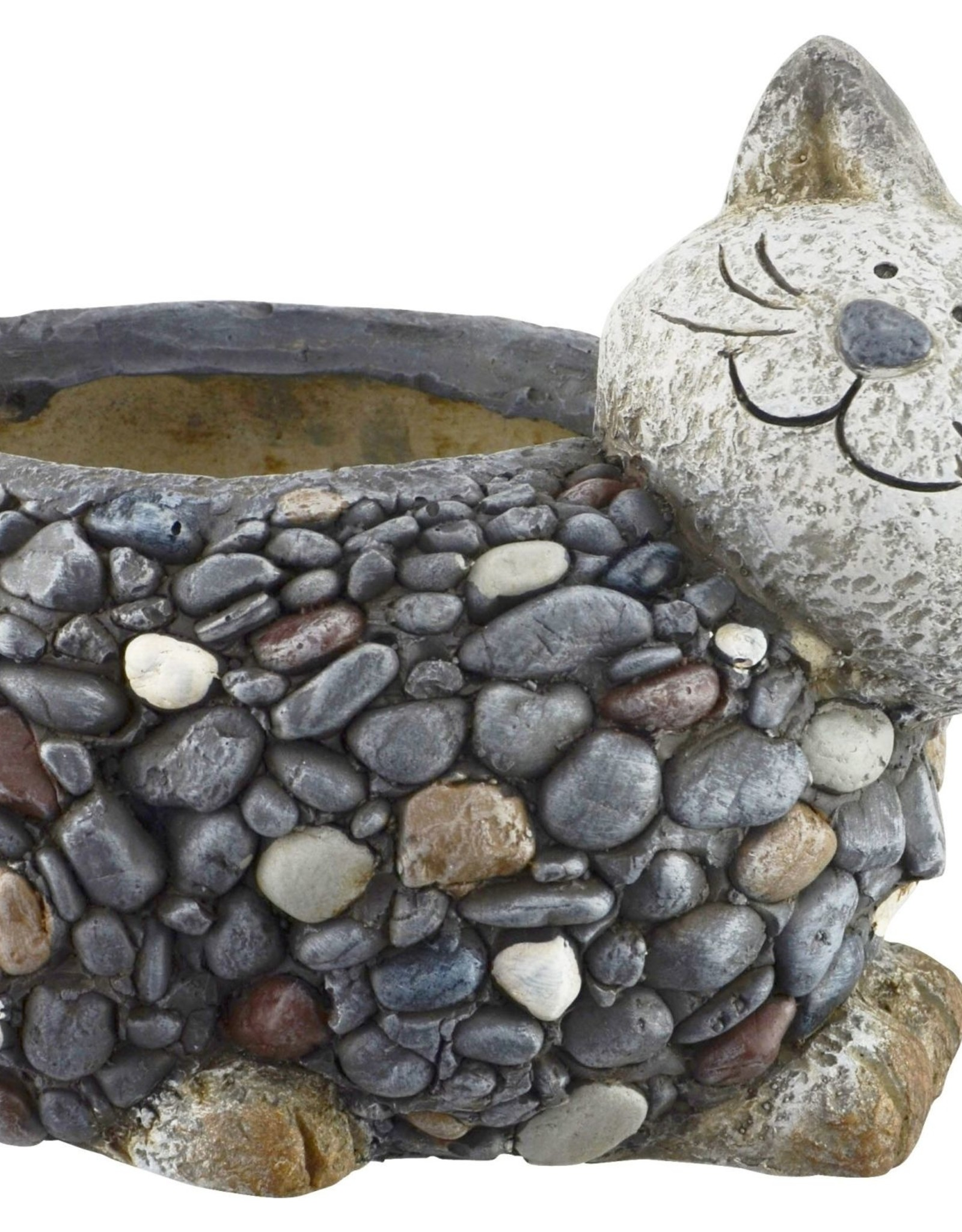 Pebble Planter - Cat