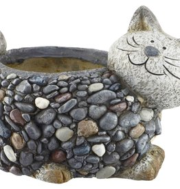 Pebble Planter - Cat