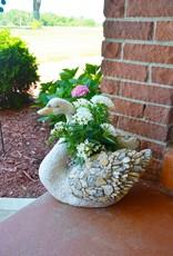 Pebble Planter - Swan