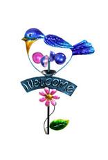 Welcome Bluebird Kinetic Stake