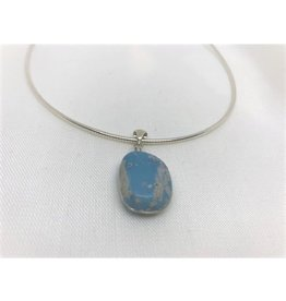 Necklace Pendant - Leland Blue
