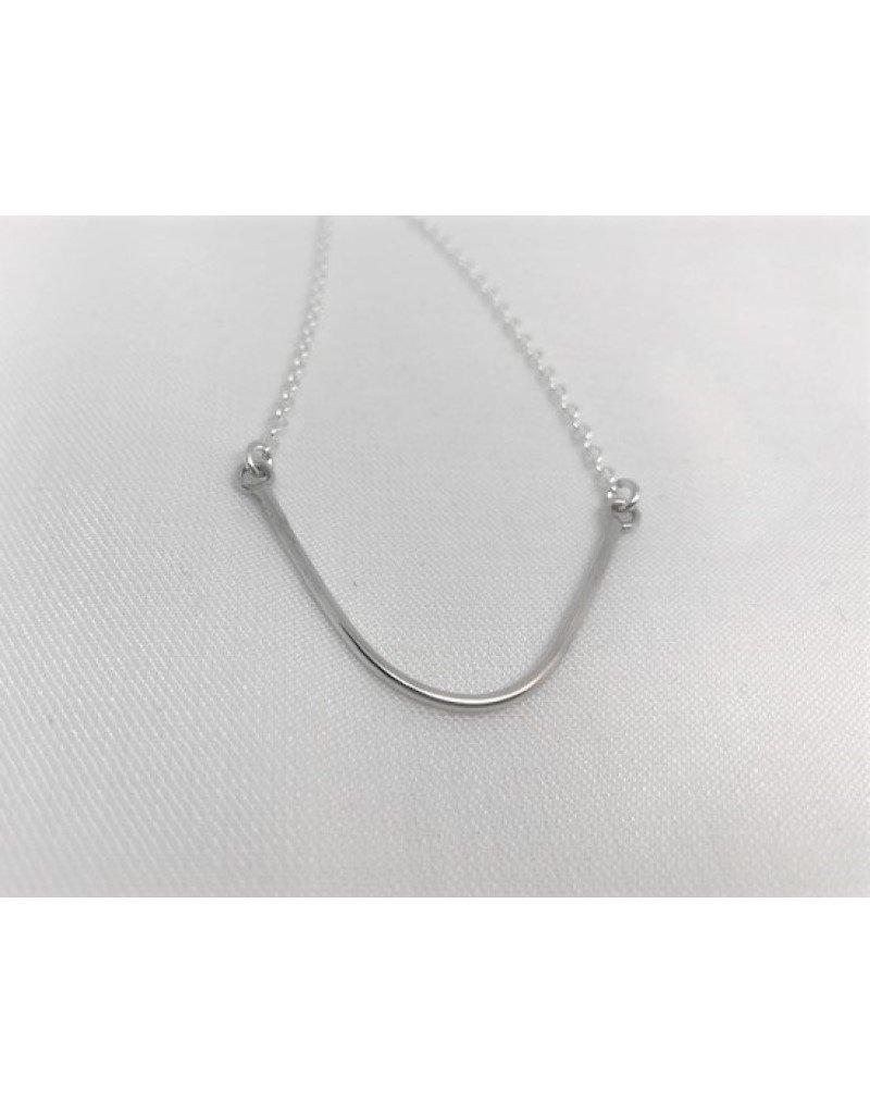 Beach Stone Charm Necklace