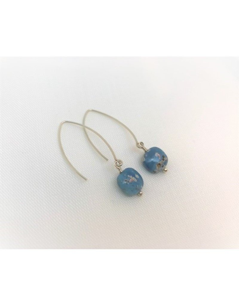 Drop Earrings - Leland Blue Square