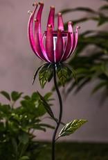 Whimsical Flower Stake - Pink