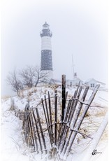Nick Irwin Images Big Sable Lighthouse in Winter