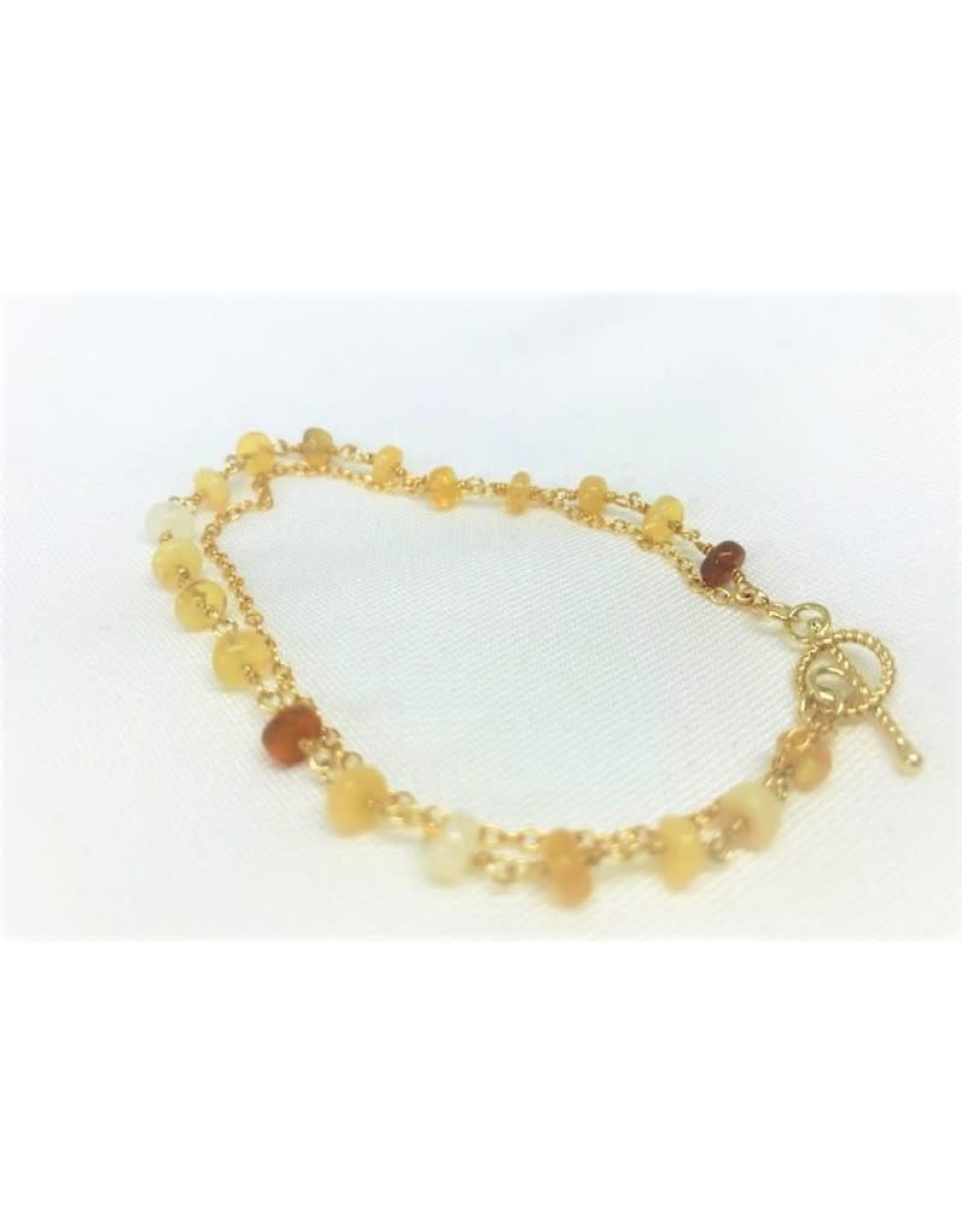 Charm Bracelet - Opal
