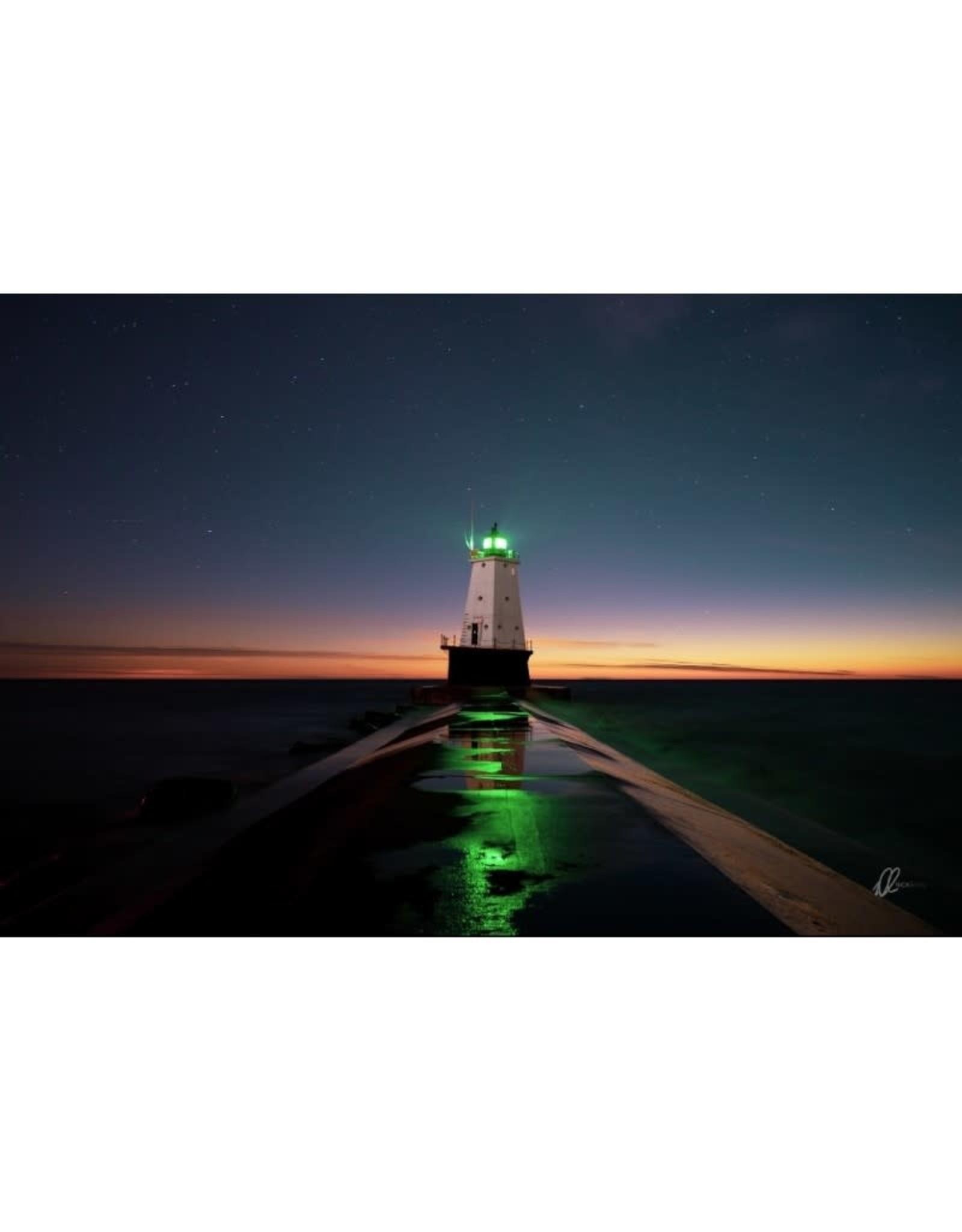 Nick Irwin Images Ludington Light Twilight