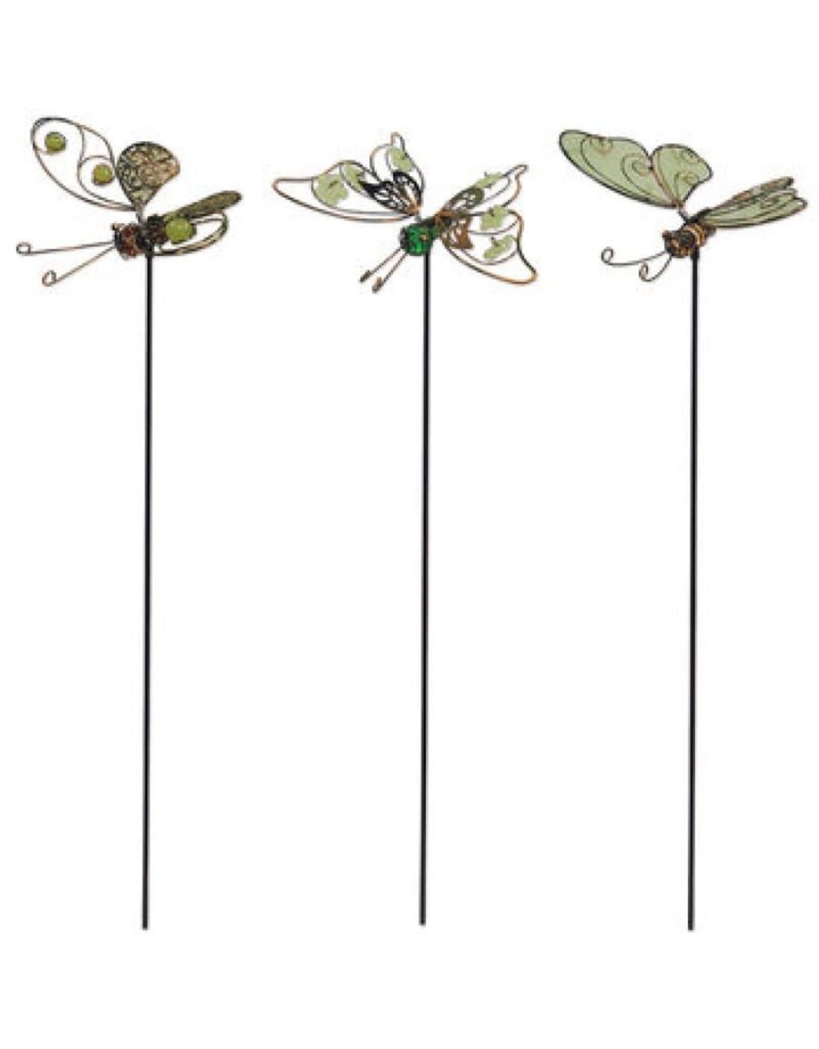Glow in the Dark Butterfly Stakes - Set of 3