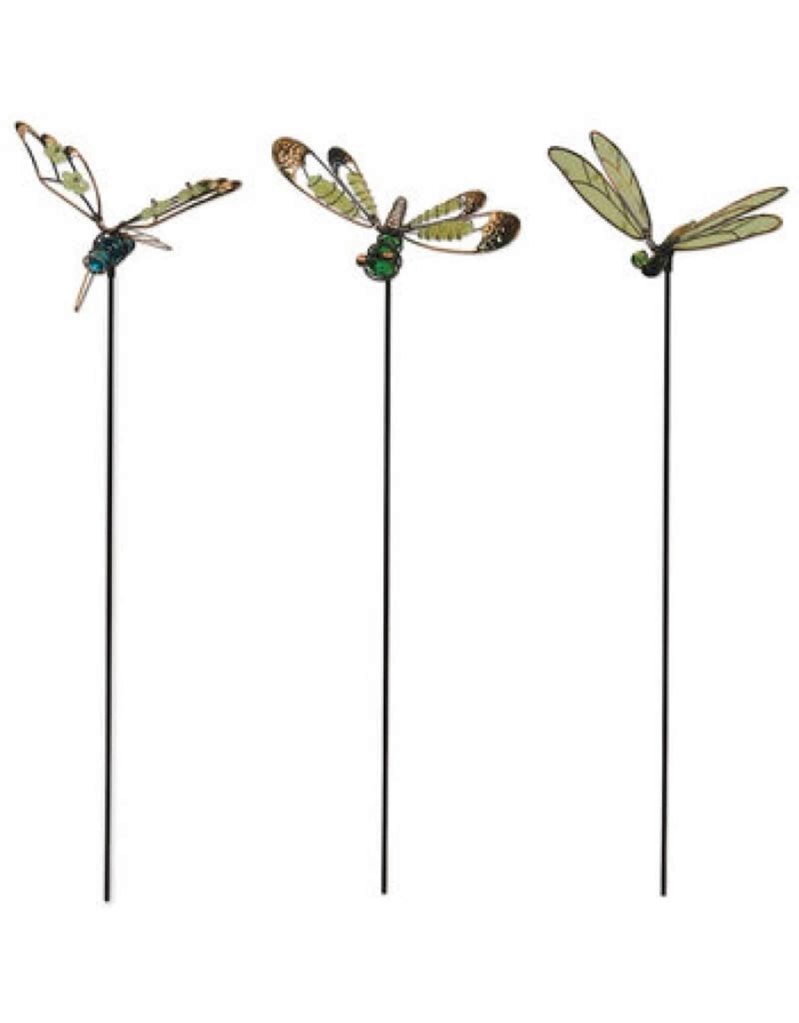 Glow in the Dark Dragonfly Stakes - Set of 3