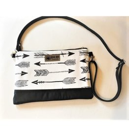 Bear Den Handmade Arrow Crossbody Bag