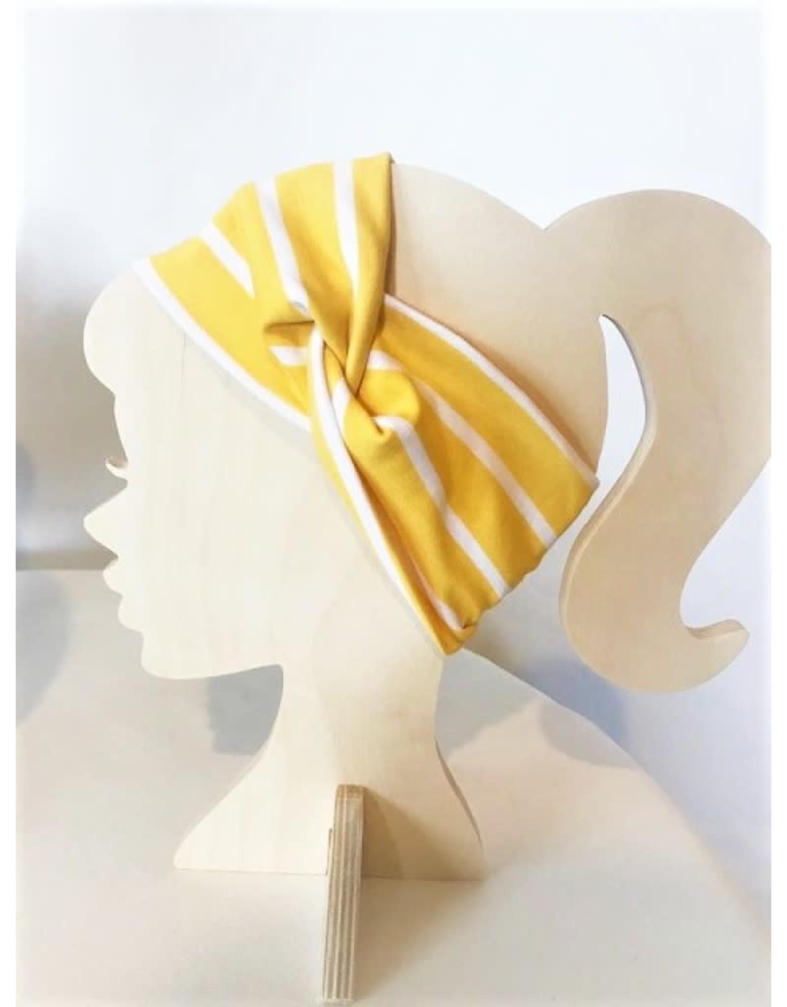 Bear Den Handmade Bear Den Bandeau - Yellow Stripe
