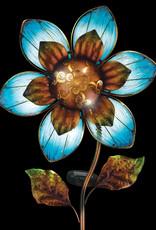 Solar Giant Flower Stake - Blue