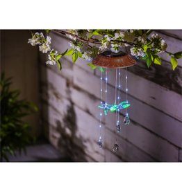 Solar Mobile - Color Changing Dragonfly