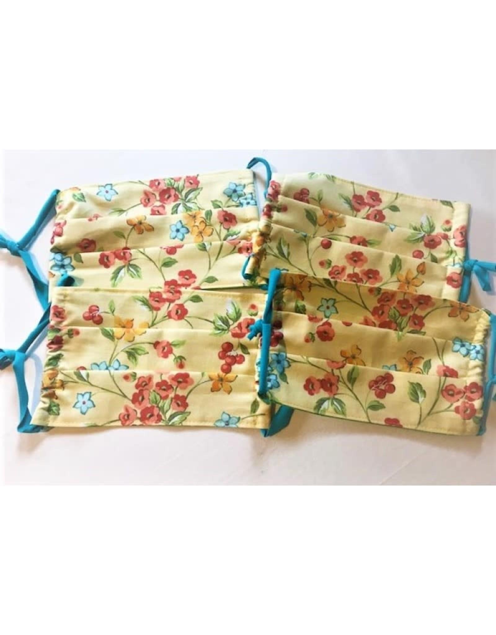 Bear Den Handmade Bear Den Masks - Yellow Wildflowers